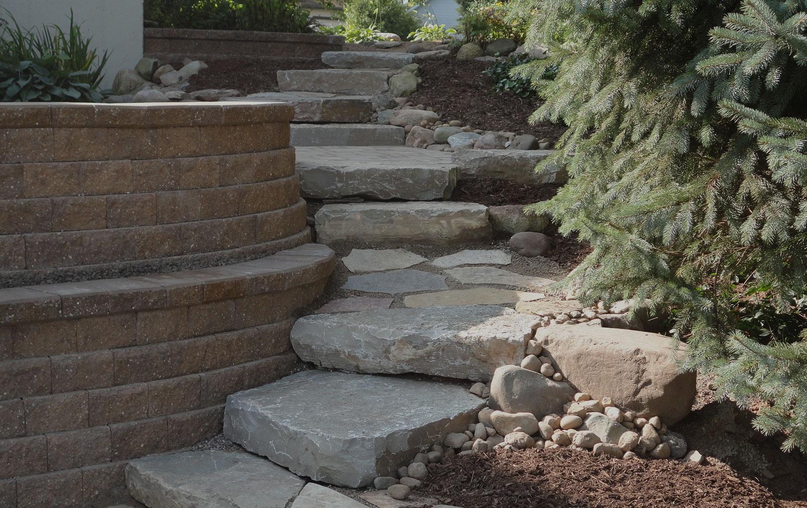 Stone & Concrete Hardscapes